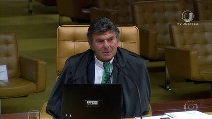 Ministro Luiz Fux é eleito presidente do Supremo Tribunal Federal por dois anos
