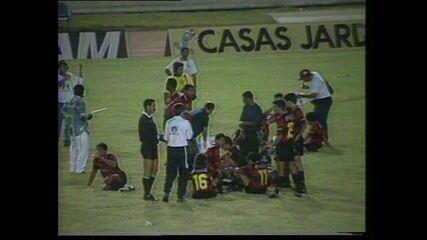 Nos pênaltis, CRB perde título da Copa do Nordeste de 1994  para o Sport