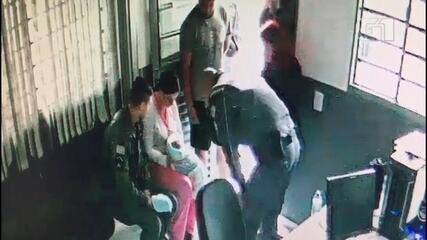 Vídeo mostra resgate de recém-nascido que se engasgou com leite em Jundiaí