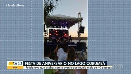Polícia encerra festa que teve show do sertanejo Bruno, da dupla com Marrone, em Goiás