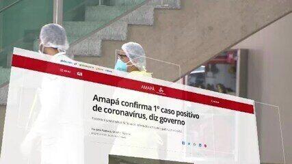G1 revive 100 dias de pandemia da Covid-19 no Amapá em 100 segundos