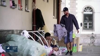 Trabalhadores perdem o emprego e suas casas por causa da pandemia