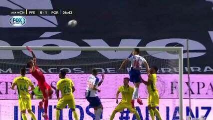 O gol de Paços de Ferreira 0 x 1 Porto pelo Campeonato Português