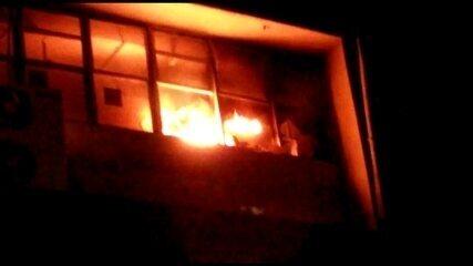 UTI de Covid-19 do Hospital Agamenon Magalhães é atingida por incêndio