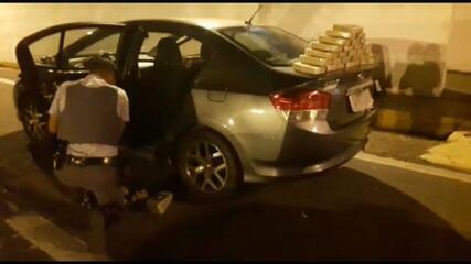 Quantidade de drogas apreendidas em rodovias de SP cresce 139% durante quarentena