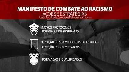 Universidade Zumbi dos Palmares lança manifesto de combate ao racismo