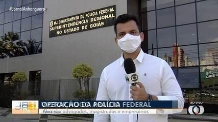 Operação contra juízes, advogados e empresários em Goiás apura venda de decisões judiciais