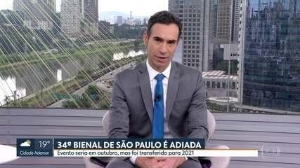 Bienal de São Paulo é adiada pra 2021