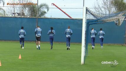 Grêmio decidem retornar treinos coletivos em Criciúma, Santa Catarina