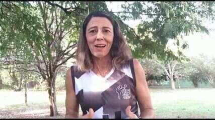 Ex-jogadora da Recra, Vânia Mello tenta manter tradição do Vôlei no clube