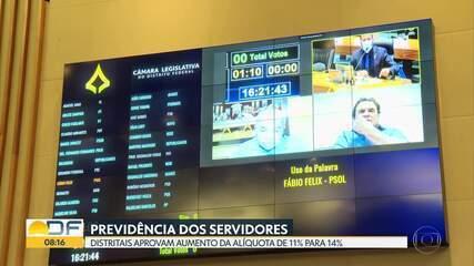 Câmara Legislativa aprova reforma da previdência para servidores do DF