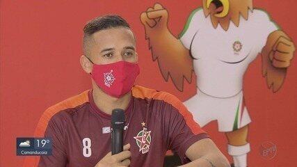 Reforça do Boa, Marcos Paulo fez oito gols em 12 jogos pelo Monte Azul