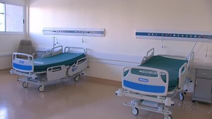 HC de Bauru foi inaugurado no dia 1º de julho com a chegada dos primeiros paciente com Covid-19