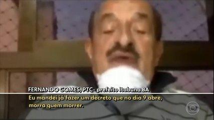 Prefeito de Itabuna diz que comércio será reaberto 'morra quem morrer'
