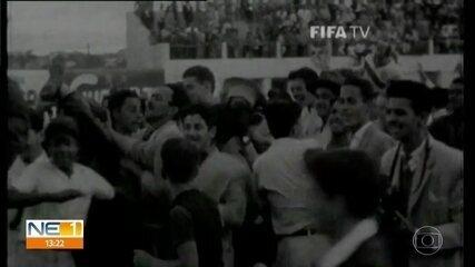 Há 70 anos, a Ilha do Retiro recebia uma partida da Copa do Mundo