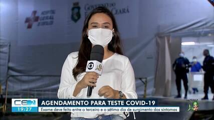 Hospital Geral de Fortaleza abre novas vagas para testes da covid-19 em julho