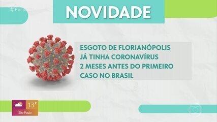 Estudo descobre coronavírus no esgoto de Florianópolis em novembro