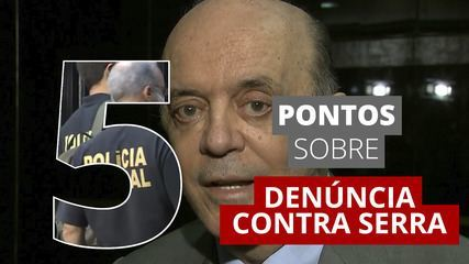 José Serra é denunciado pela Lava Jato; 5 pontos para entender o caso