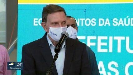Prefeito do Rio fala que crianças são imunes à Covid-19