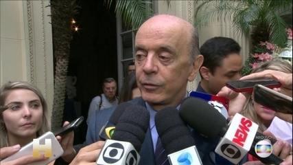 Lava Jato denuncia José Serra por lavagem de dinheiro, PF cumpre mandado de busca