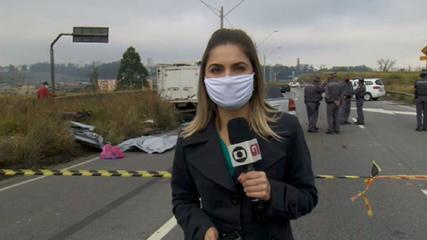 Acidente na Grande São Paulo deixa três mortos
