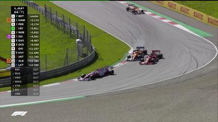 Leclerc ultrapassa Norris pelo GP da Áustria