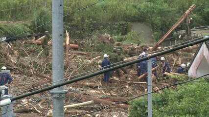 Temporais no sul do Japão deixam mais de 40 mortos