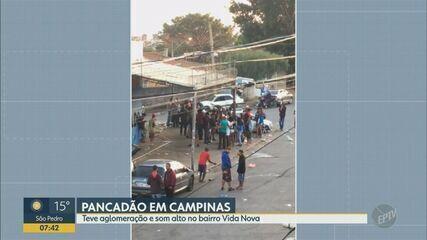 'Pancadões' e campeonato de pipas provocam aglomerações em Campinas no fim de semana