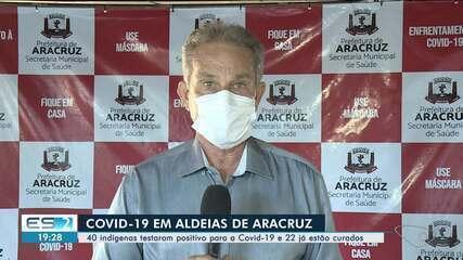 Em Aracruz, 40 indígenas testaram positivo para a Covid-19 e 22 já estão curados