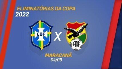 Galvão Bueno diz que jogo entre Brasil e Bolívia, pelas Eliminatórias, está marcado para o Maracanã