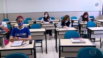 Manaus tem volta às aulas de escolas particulares