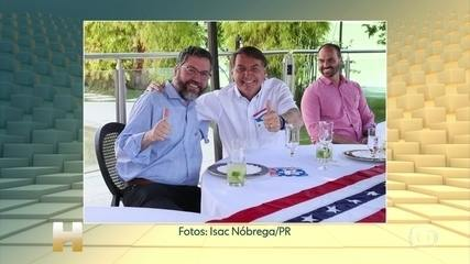 Exame de Bolsonaro dá positivo para Covid-19