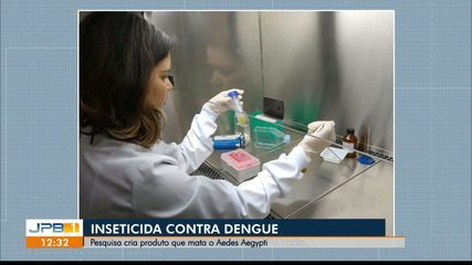 Pesquisa da UFPB cria inseticida contra a dengue