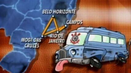 Reveja a reportagem de 2004 com o time do Corinthians/Mogi para o Esporte Espetacular