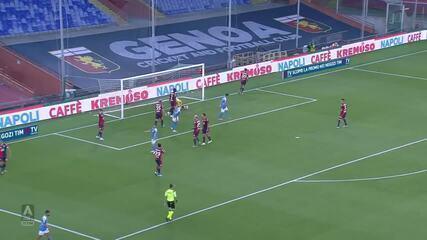 Os gols de Genoa 1 x 2 Napoli pelo Campeonato Italiano