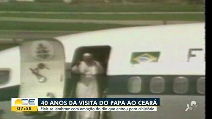 Relembre a visita do Papa João Paulo II ao Ceará
