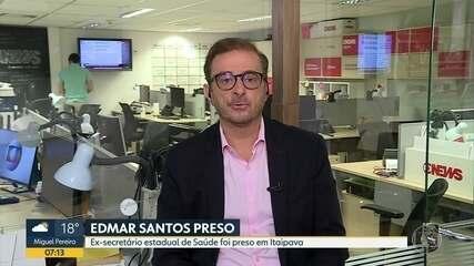 Octávio Guedes comenta a prisão do ex-secretário de Saúde, Edmar Santos