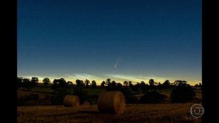 Cometa passa próximo da Terra e pode ser visto da Europa
