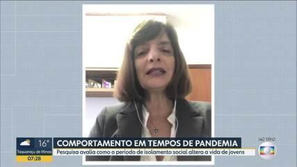 Pesquisa da UFMG avalia o comportamento dos jovens durante a pandemia