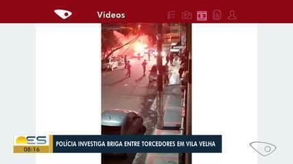 Briga entre torcedores assustou moradores em Vila Velha