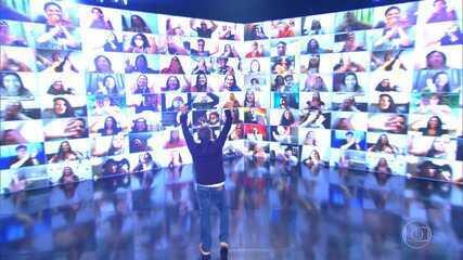 'Caldeirão' estreia plateia virtual!