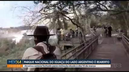 Parque Nacional do Iguaçu do lado argentino é reaberto