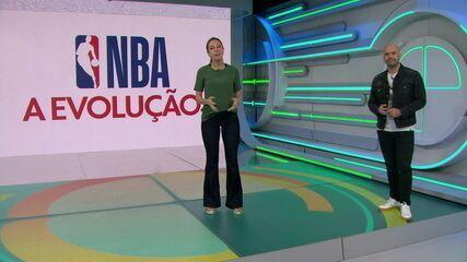 NBA: A evolução dos melhores jogadores de basquete do mundo