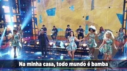 Martinho da Vila canta 'Casa de Bamba'