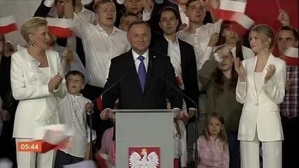 Atual presidente da Polônia se reelege no país