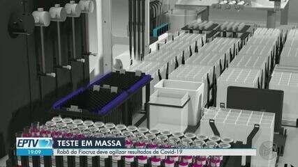 Com promessa de zerar fila de exames de Covid-19, robôs são montados em Ribeirão Preto, SP