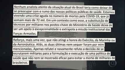 Gilmar Mendes afirmou, em nota, que não fez críticas às Forças Armadas