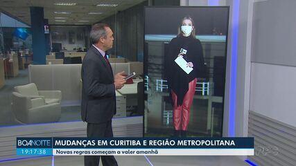 Prefeitura de Curitiba deve voltar a adotar regras da bandeira laranja