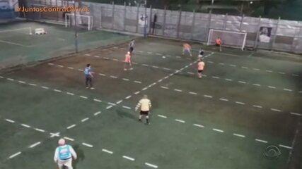 Reportagem aborda volta do futebol no Rio Grande do Sul