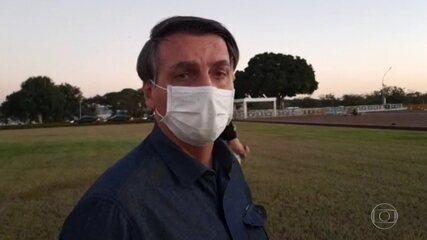 Bolsonaro informa em rede social que novo exame para a Covid-19 ...